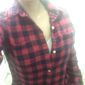 Riders by LEE Red & Black Checkered Shirt